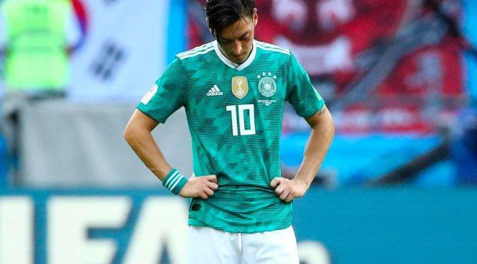 메수트 외질 독일 국가대표 은퇴선언