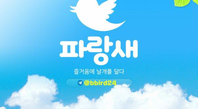 파랑새 BLUE BIRD 보증안전업체 bbd-2424.com